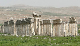 Destruction of the Temple of Zeus, Apamea