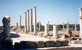 Destruction of the Pagan Temples of Salamis (406 AD)
